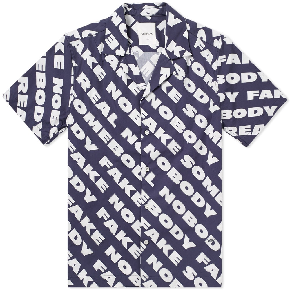 Wood Wood Brandon Statement Shirt