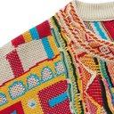 KAPITAL - Cotton-Jacquard Sweater - Red