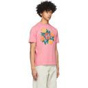 Botter Pink Orange Silkscreen Print T-Shirt