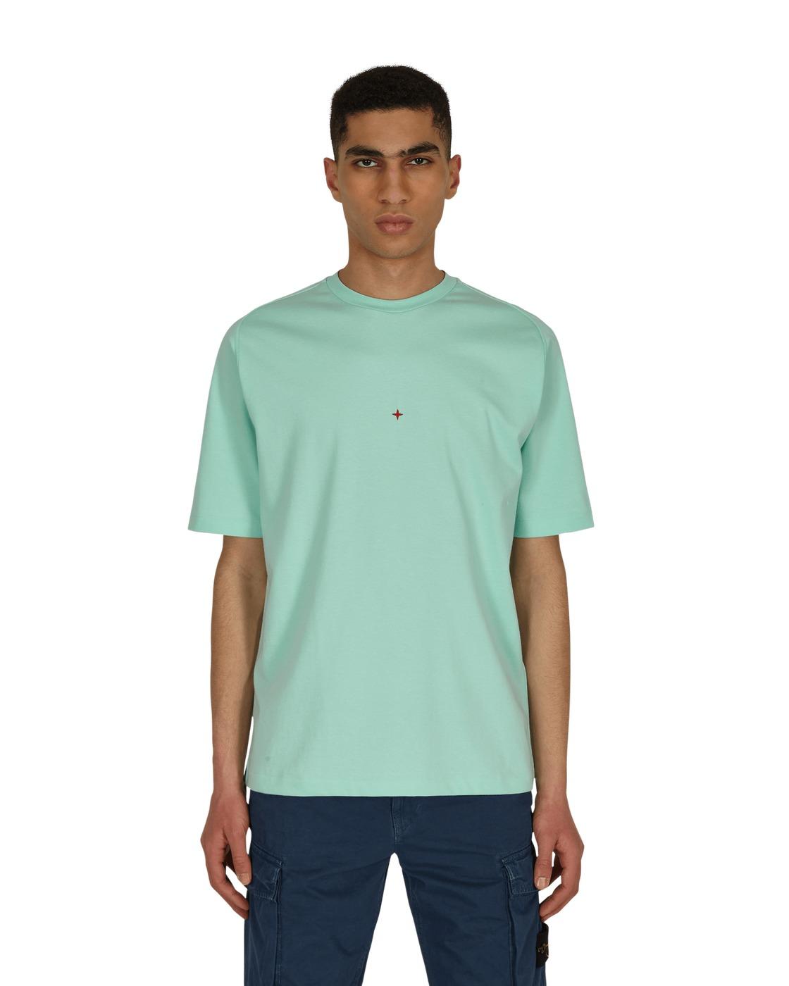 Stone Island Marina T Shirt Aqua
