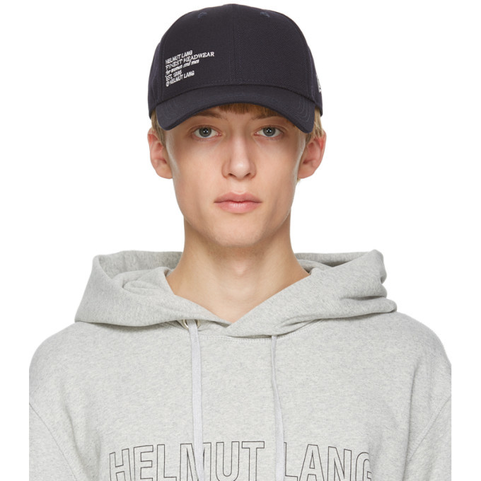 Photo: Helmut Lang Navy New Era Edition 9Forty Cap