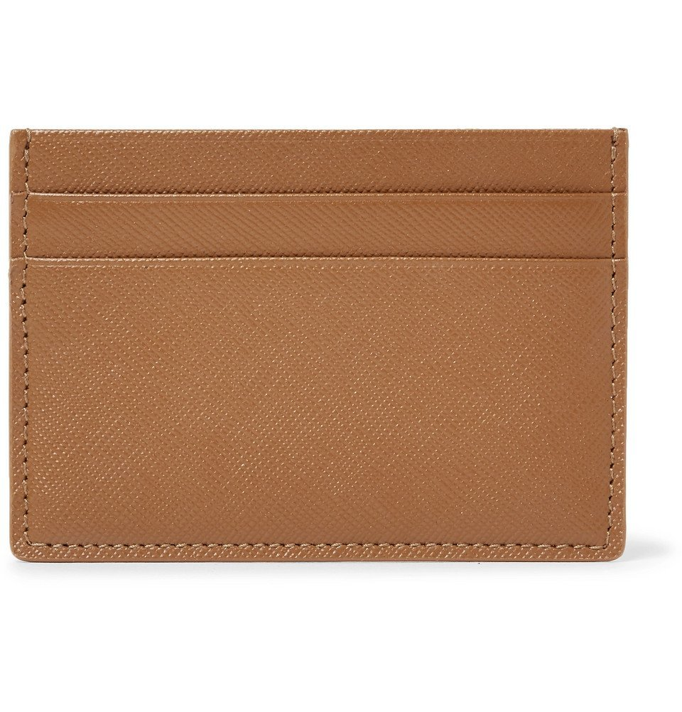 Common Projects - Cross-Grain Leather Cardholder - Tan
