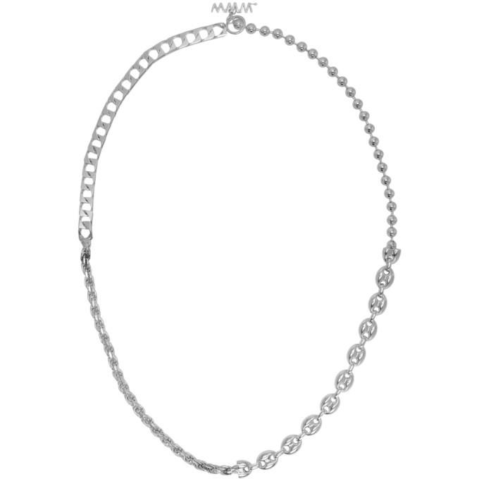 Photo: WWW.WILLSHOTT Silver 4 Link Solid Chain Necklace