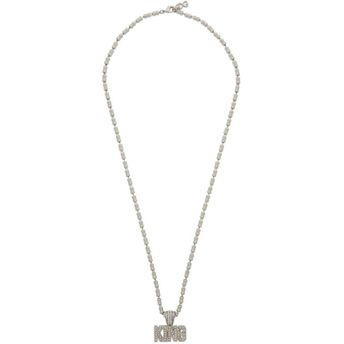 Photo: Dolce and Gabbana Silver King Necklace
