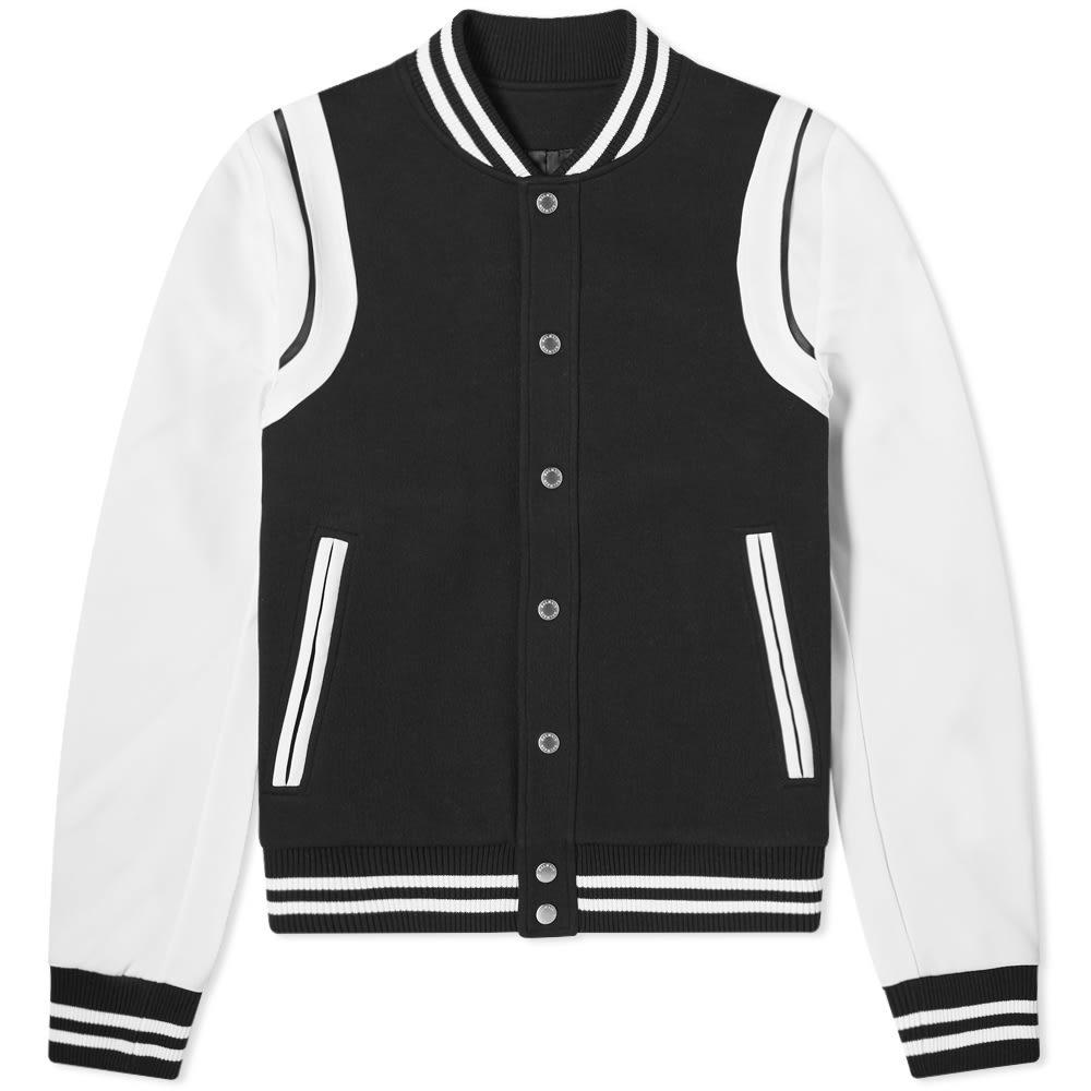 Photo: Balmain Neoprene Varsity Jacket