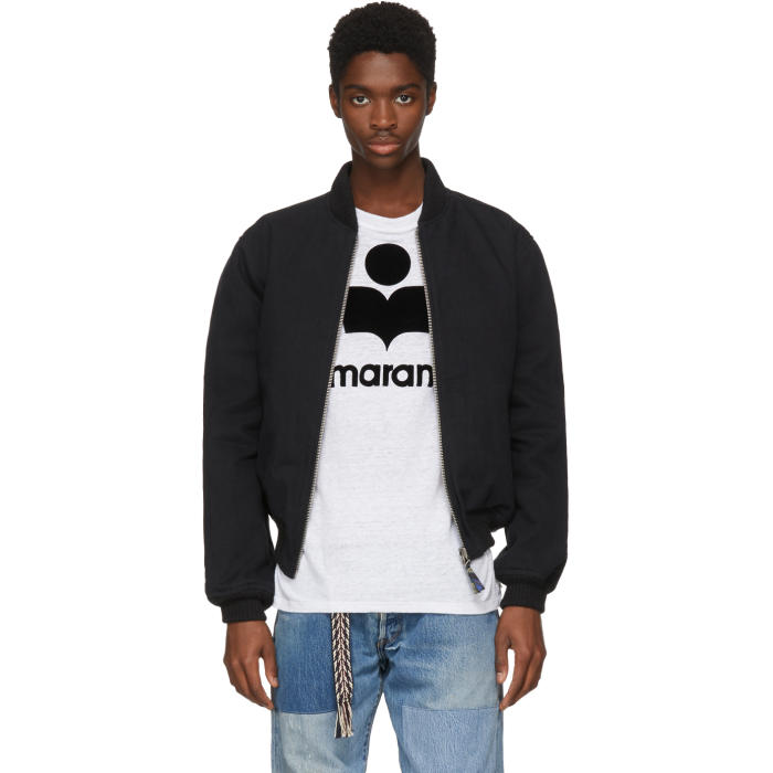 Photo: Isabel Marant Black Loik Bomber Jacket