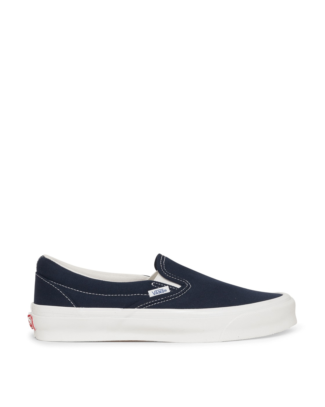 Photo: Vans Classic Slip On Lx Sneakers Navy