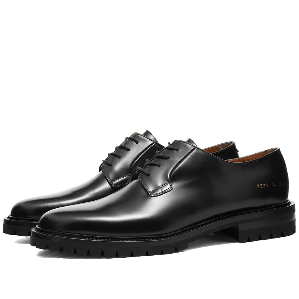 Photo: Common Projects Lug Sole Derby Shoe