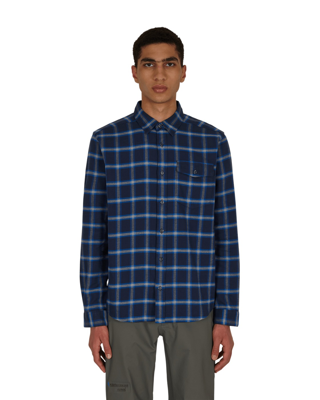 Photo: Patagonia Fjord Flannel Shirt New Navy