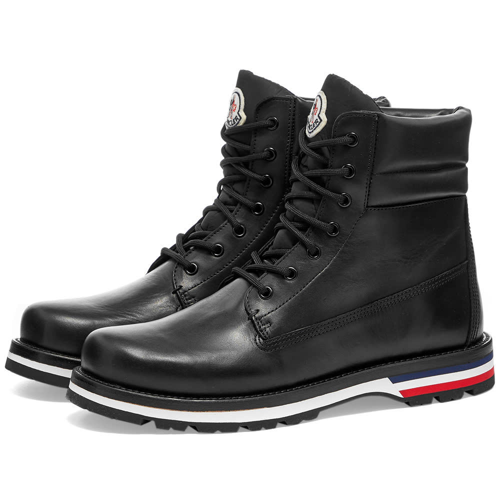 Photo: Moncler Vancouver Leather Hiking Boot