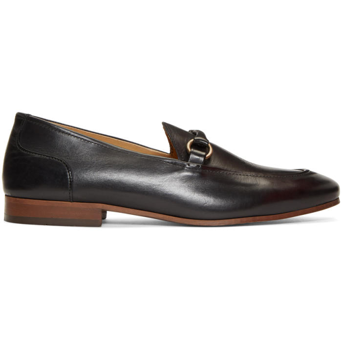 Photo: H by Hudson Black Renzo Loafers