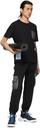 MCQ Black Nylon Overlay Cargo Pants
