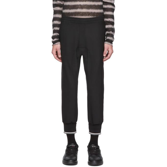 Photo: Neil Barrett Black Wool Double Cuff Cropped Trousers