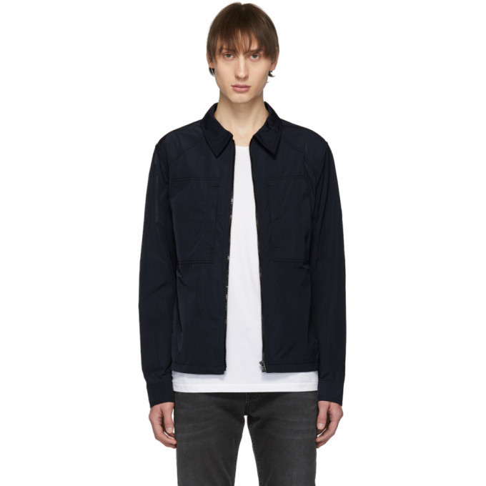 Photo: Belstaff Navy Thorncroft 2.0 Jacket