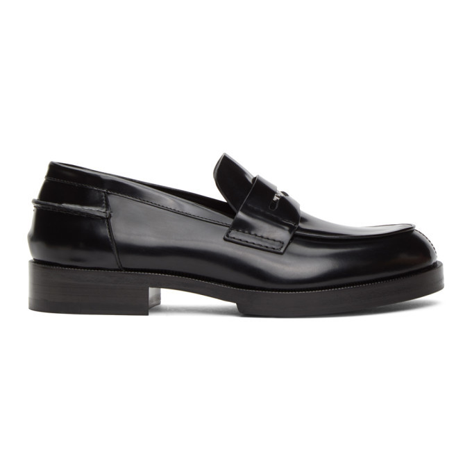 Photo: 1017 ALYX 9SM Black A Penny Loafers