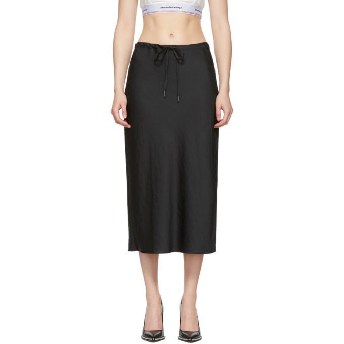 alexanderwang.t Black Wash and Go Light Skirt