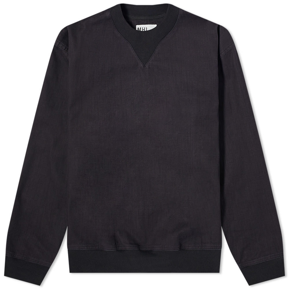 Photo: MHL. by Margaret Howell Woven Crew Sweat