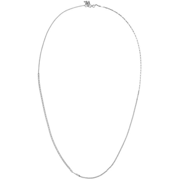 Photo: WWW.WILLSHOTT Silver 4-Link Split Chain Necklace