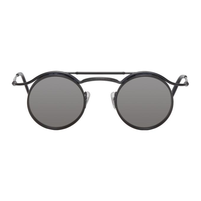 Photo: Matsuda Black 2903H Matte Visor Sunglasses