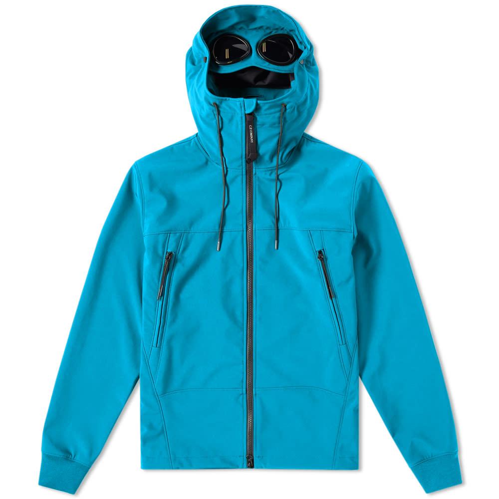 Photo: C.P. Company Shell Goggle Jacket Blue
