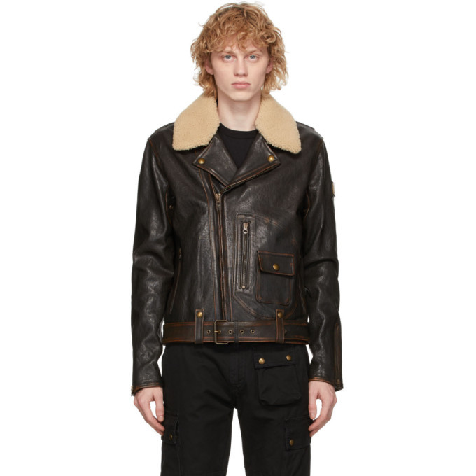 Photo: Belstaff Brown Mustang Jacket
