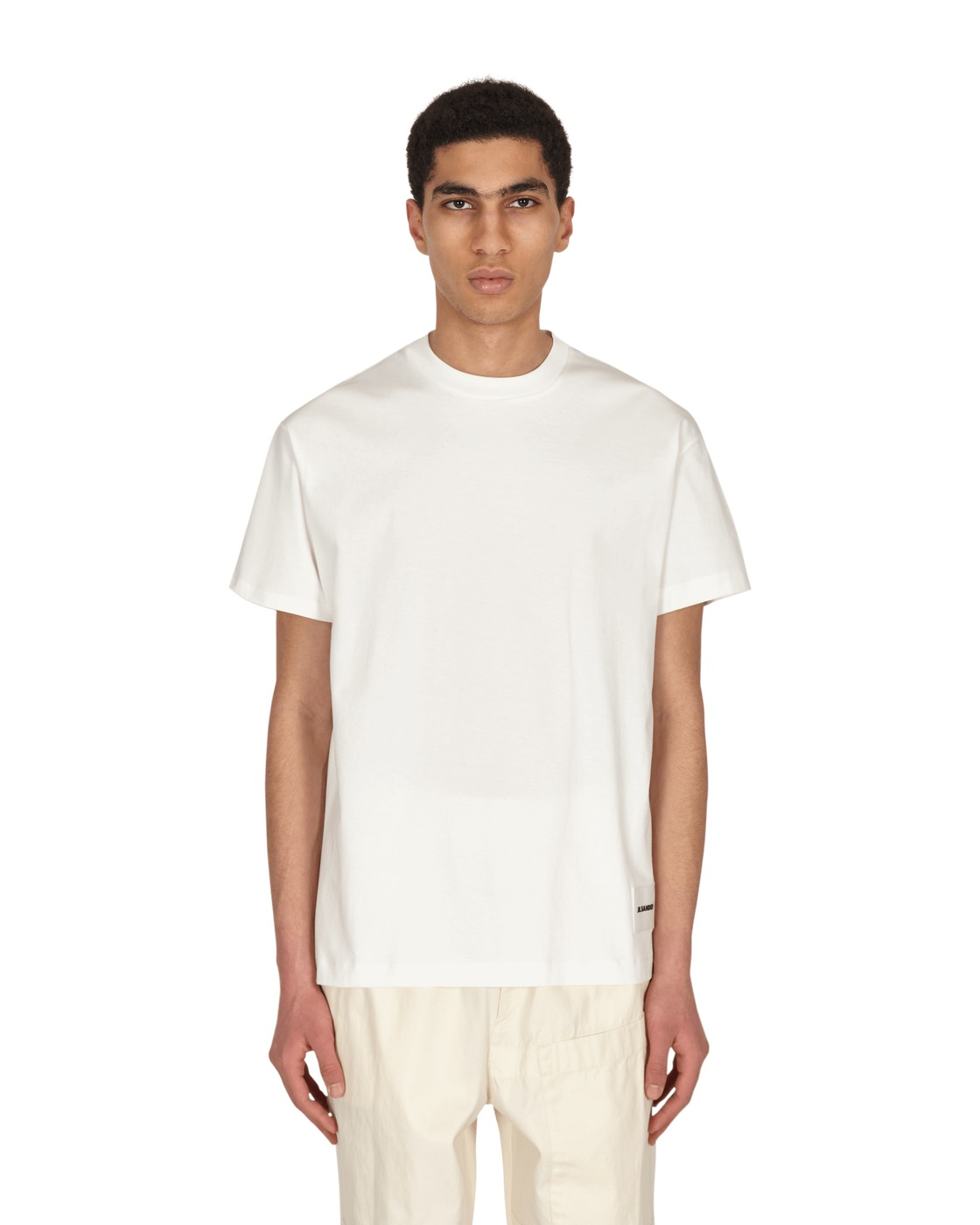 Photo: Jil Sander Cn 3 Pack T Shirt White