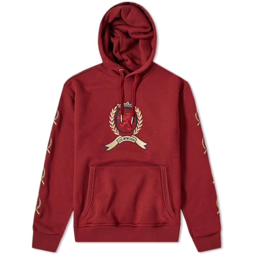 Photo: Tommy Jeans 6.0 Crest Hoody M29 Cabernet