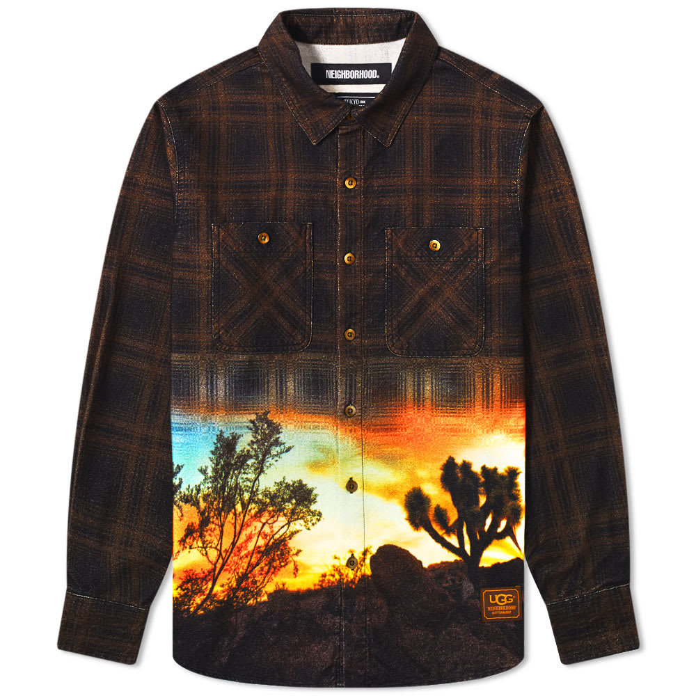 Photo: Neighborhood x UGG Lumbers Shirt