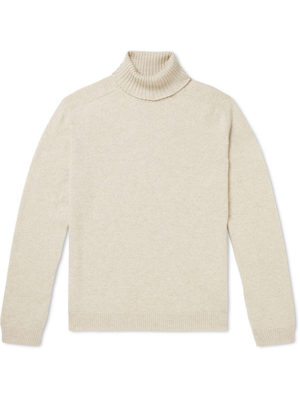 Photo: Boglioli - Cashmere Rollneck Sweater - Neutrals