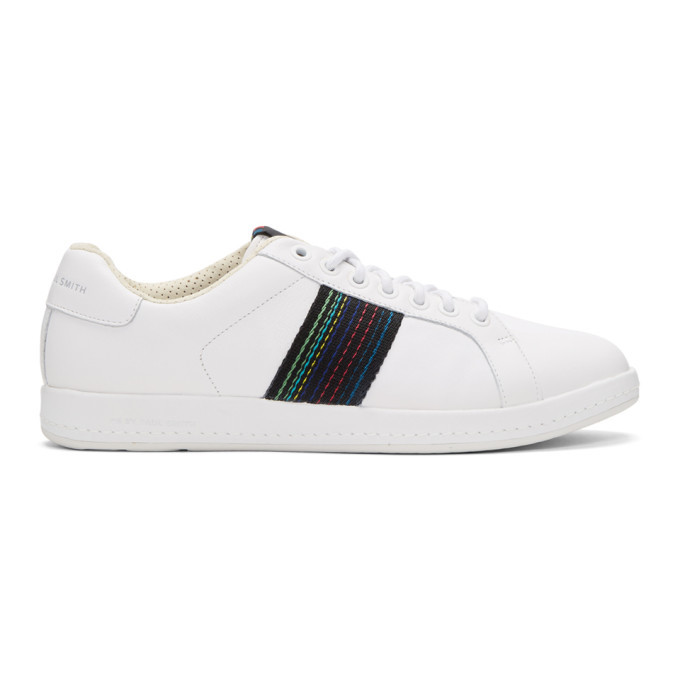 Photo: PS by Paul Smith White Lapin Sneakers