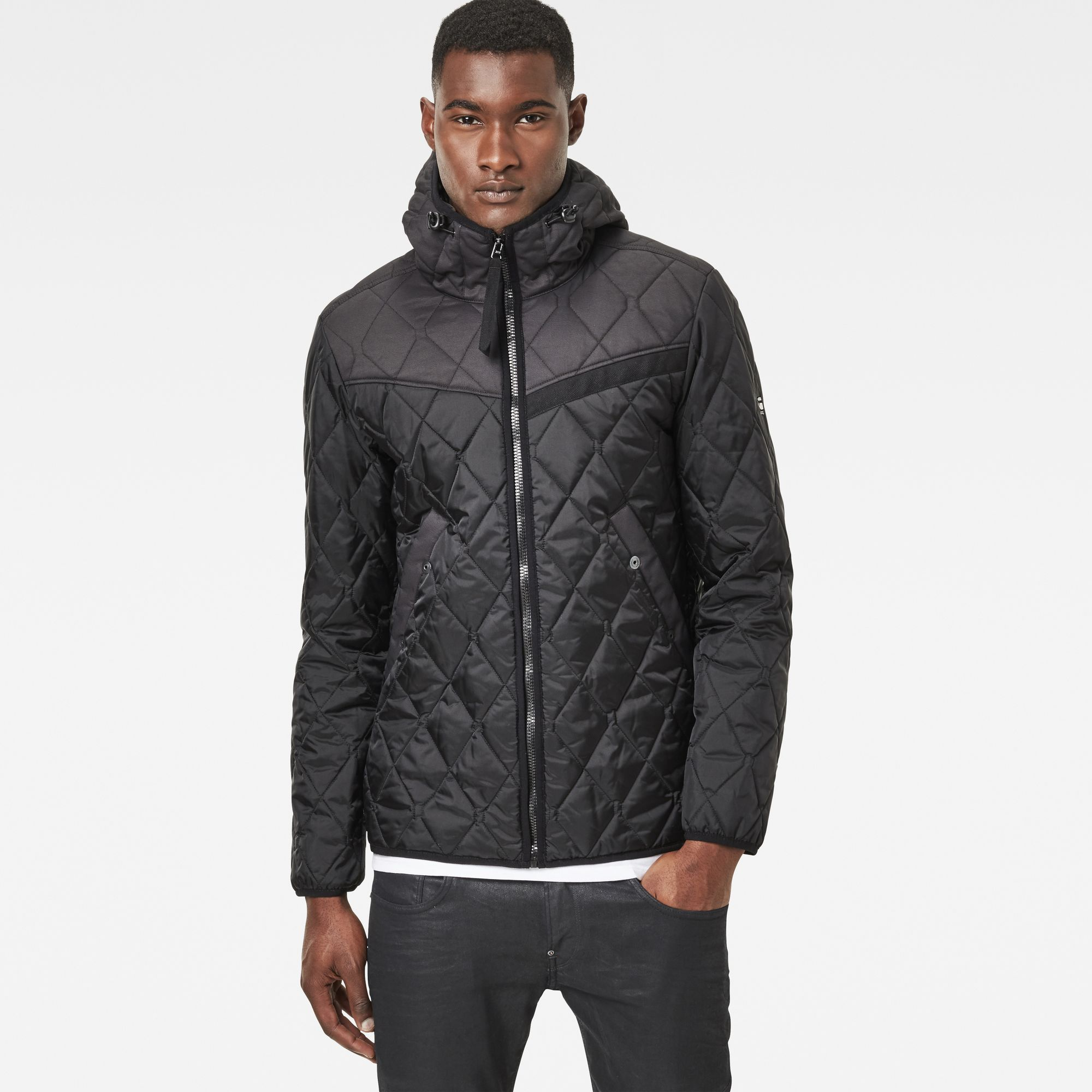 Attacc Quilted Hooded Overshirt G Star