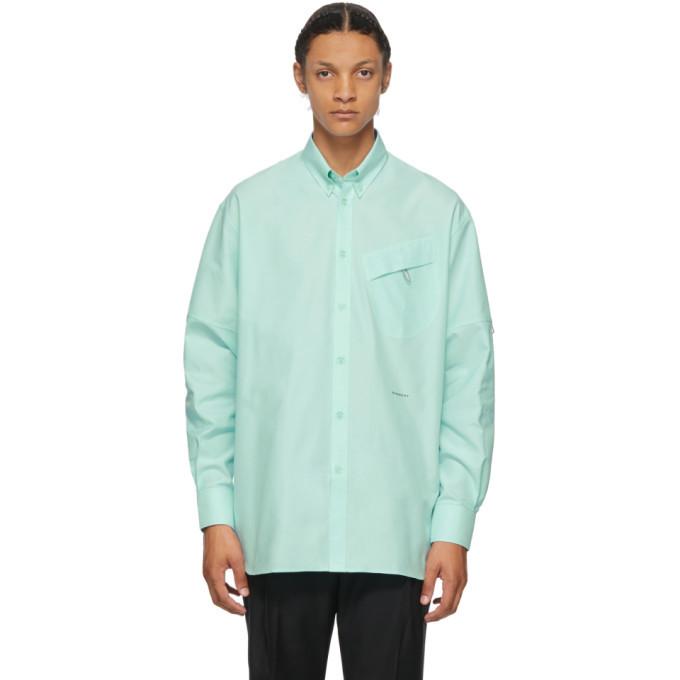 Photo: Givenchy Green Pocket Detail Shirt