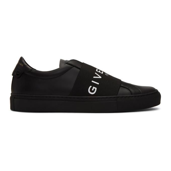Photo: Givenchy Black Elastic Urban Knots Sneakers