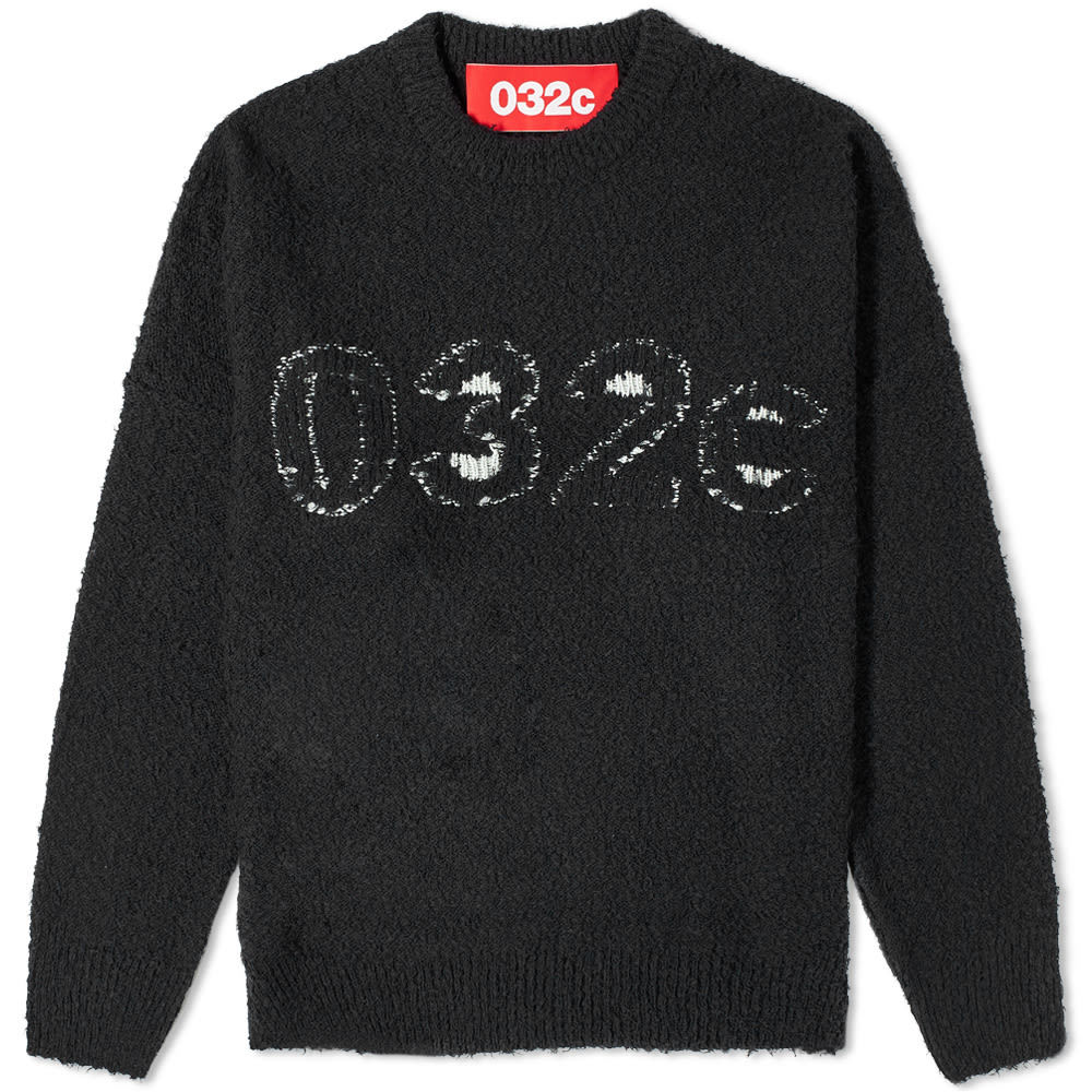 Photo: 032c Logo Cotton Crew Knit