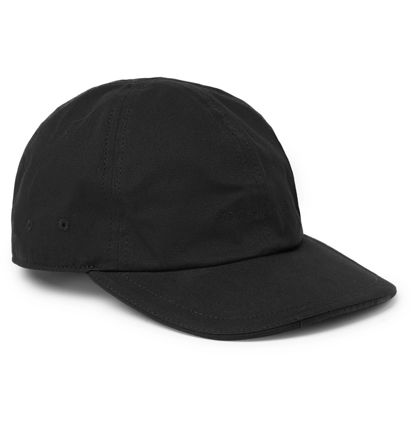 Photo: 1017 ALYX 9SM - Buckle-Detailed Logo-Embroidered Cotton-Twill Baseball Cap - Black