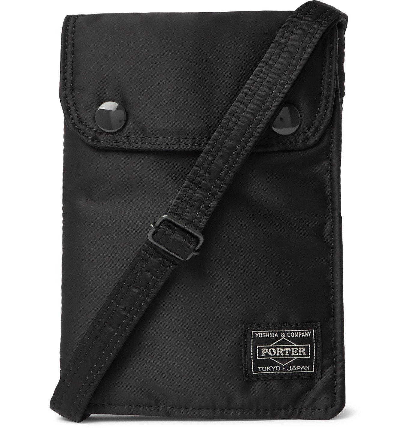 Photo: Porter-Yoshida & Co - Tanker Padded Nylon Messenger Bag - Black