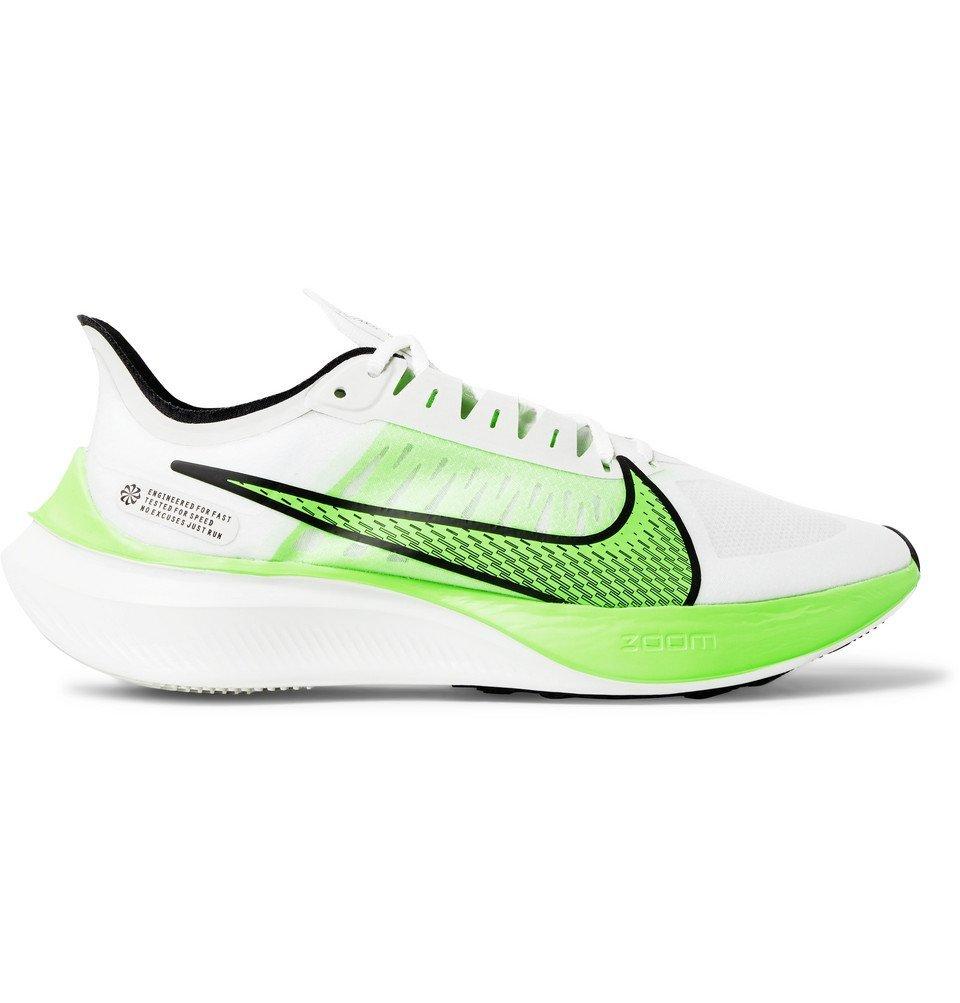 Photo: Nike Running - Zoom Gravity Logo-Print Ripstop Running Sneakers - White