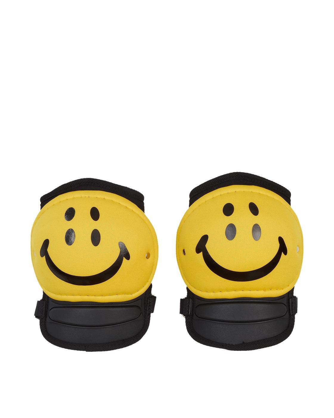 Kapital Rain Smile Knee Pads Yellow