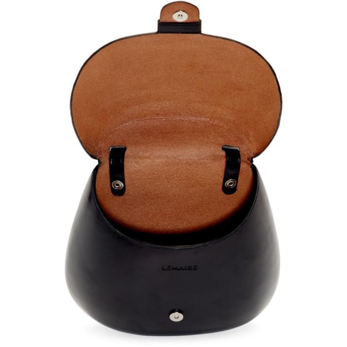 Lemaire Black Cartridge Bag
