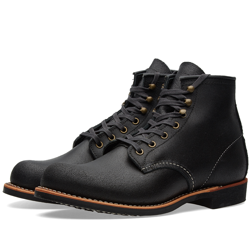 "Photo: Red Wing 2955 Heritage Work 6"" Blacksmith Boot Black"