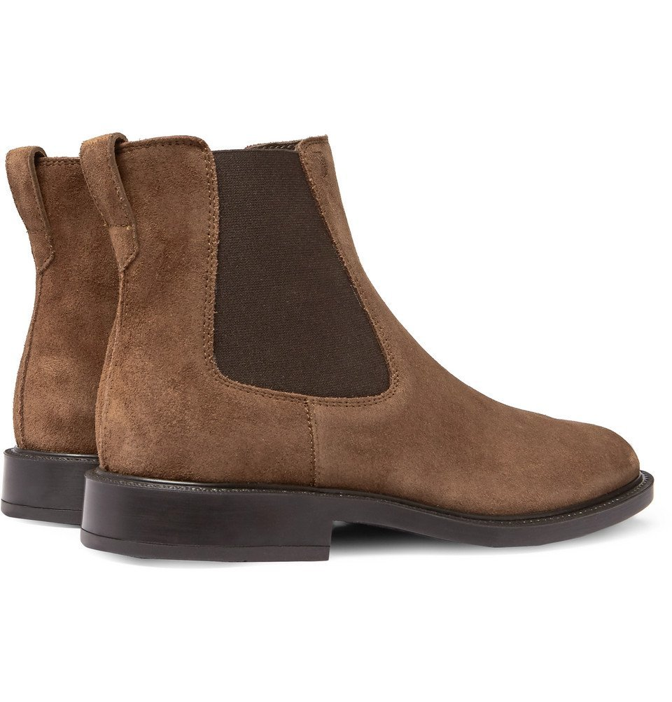 Tod's - Suede Chelsea Boots - Men - Brown