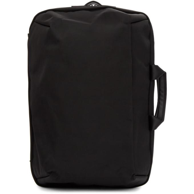 Photo: Issey Miyake Men Black Convertible Toffee Nylon Backpack