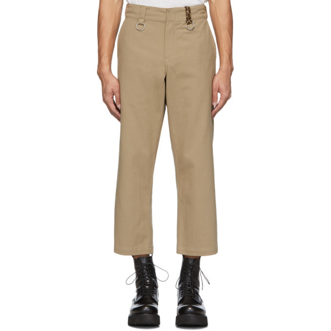 Photo: R13 Khaki Rings Slouch Trousers