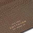 Smythson - Full-Grain Leather Cardholder - Green