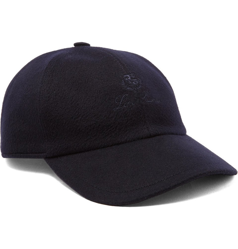 Photo: Loro Piana - Logo-Embroidered Storm System Baby Cashmere Baseball Cap - Blue