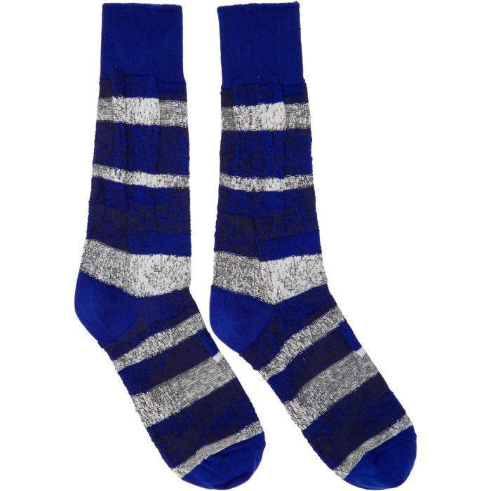 Photo: Issey Miyake Men Blue Sand Socks