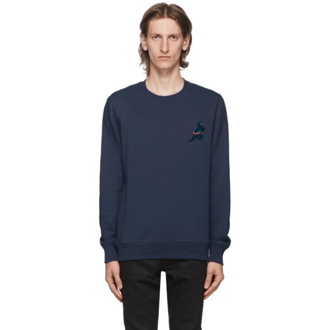 Photo: PS by Paul Smith Blue Dino Sweatshirt