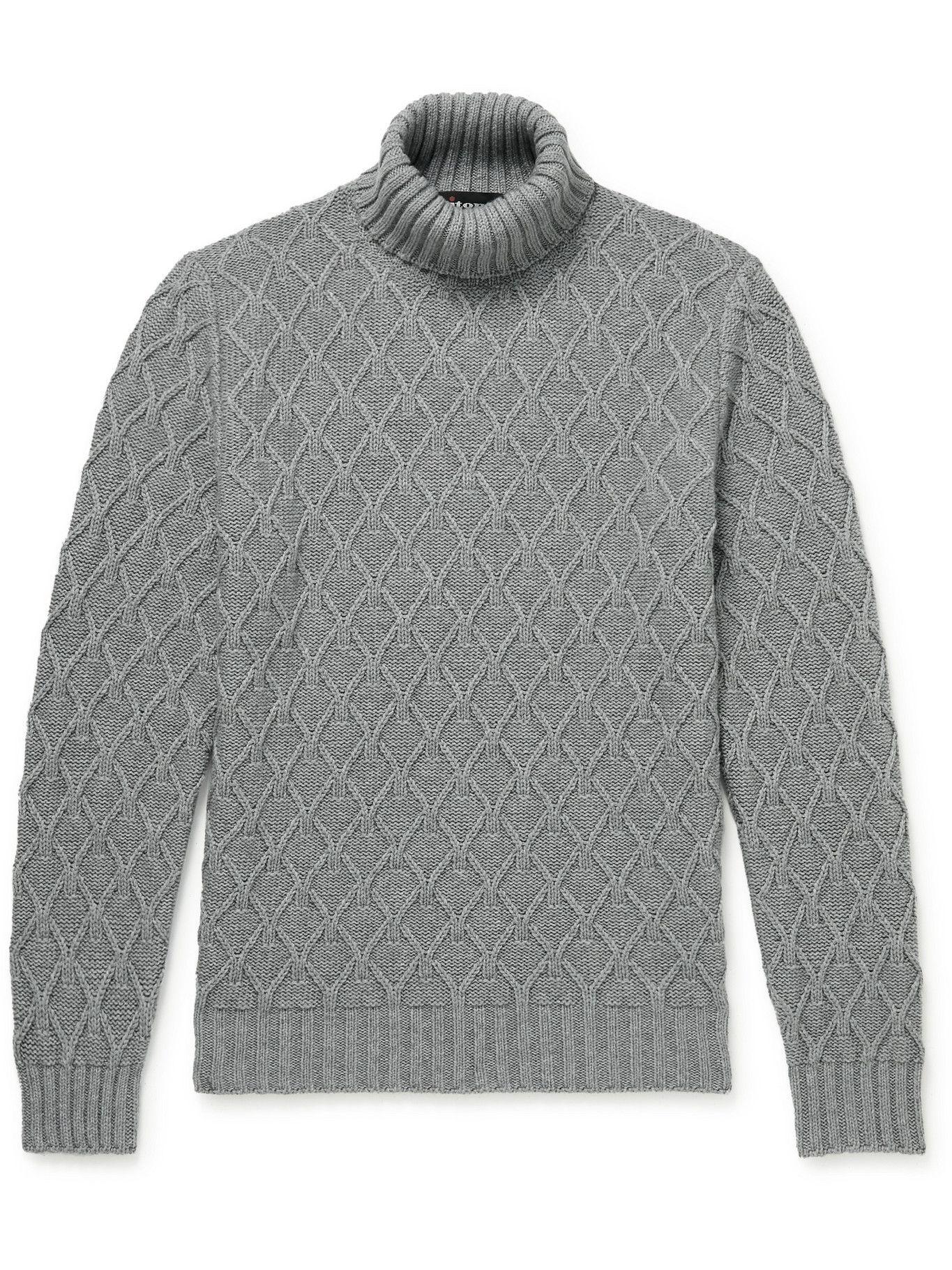 Photo: Kiton - Cashmere Rollneck Sweater - Unknown