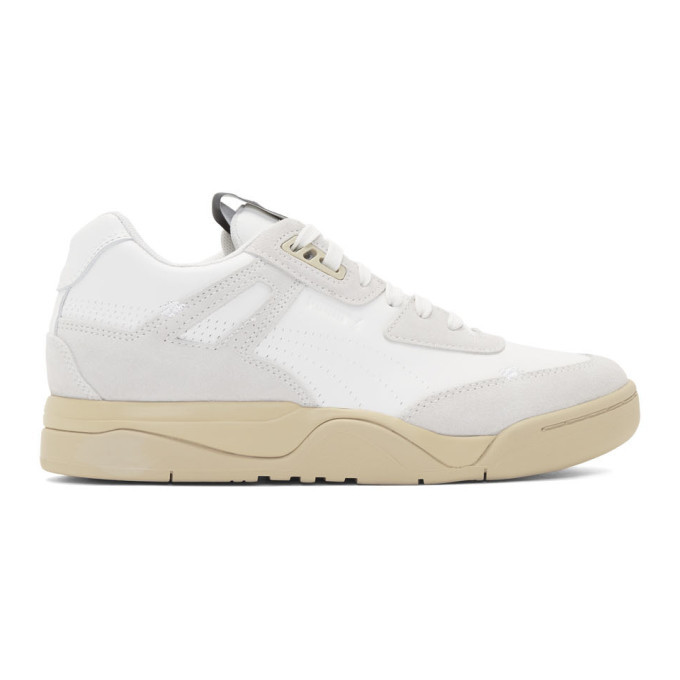Photo: Rhude White Puma Edition Palace Guard Sneakers