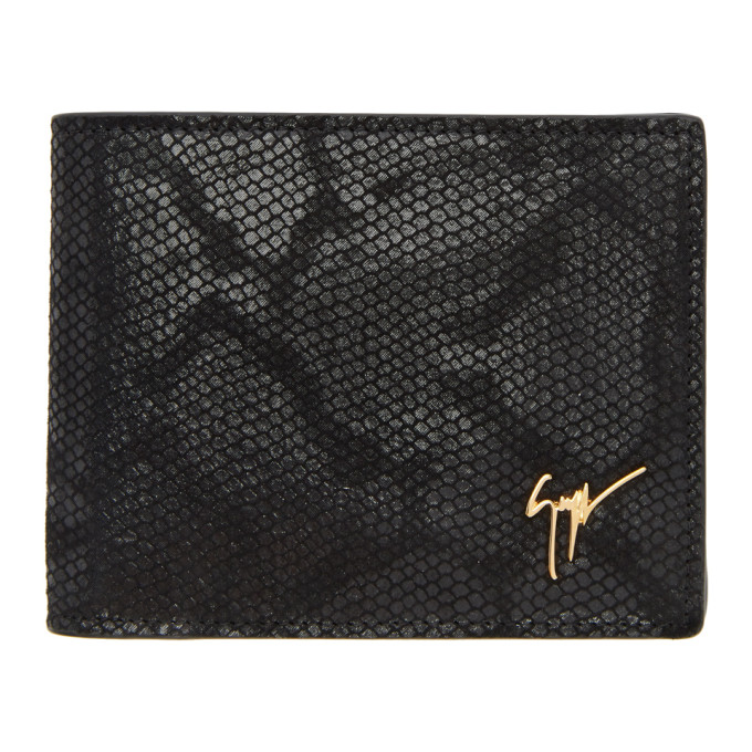 Photo: Giuseppe Zanotti Black Hooligan Wallet